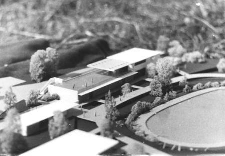 Modell des Waldbads