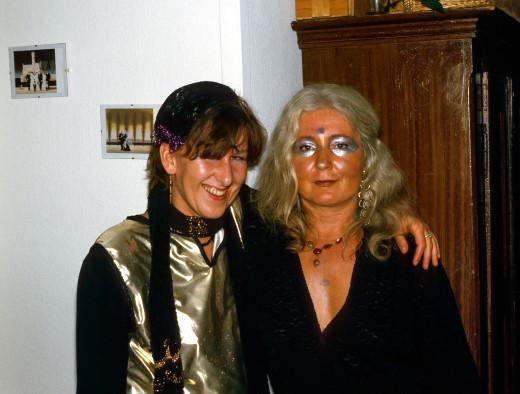 Gudrun Herbster und Dagmar Perinelli