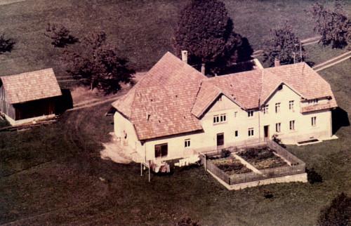 Elternhaus in Hottingen