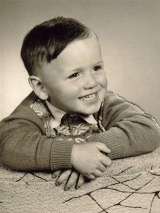 Roland Josef Strittmatter als Kind