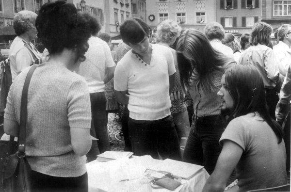 Unterschriften-Sammlung